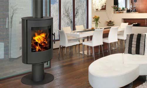 prix de pose d 39 un po le bois co t d 39 installation. Black Bedroom Furniture Sets. Home Design Ideas